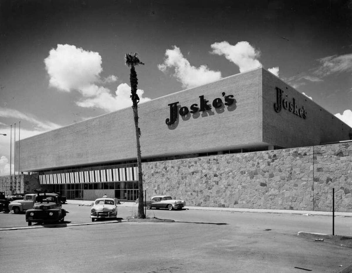 Sept. 19, 1956:Joske's second department store in Houston at Gulfgate Shopping Center.
