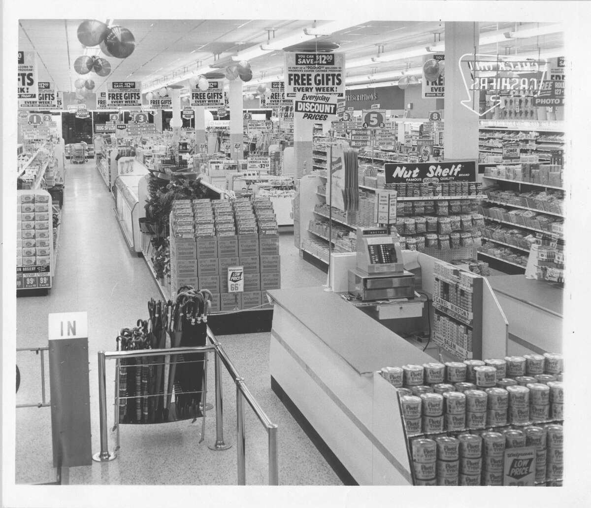 1963 - Walgreens store at Northline Shopping City. >>>Check out these ads from Northline Mall's past in the photos that follow...