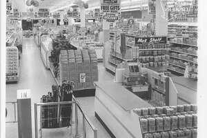 1963 - Walgreens store at Northline Shopping City.  Ed Valdez / Houston Post