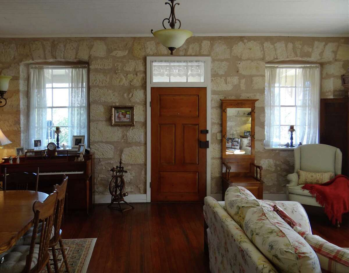 The Heinrich and Margarete Bierschwale house in Fredericksburg, finished in 1873, is one of the best-documented German-Texan houses in the state; the family has saved the building account to this day.