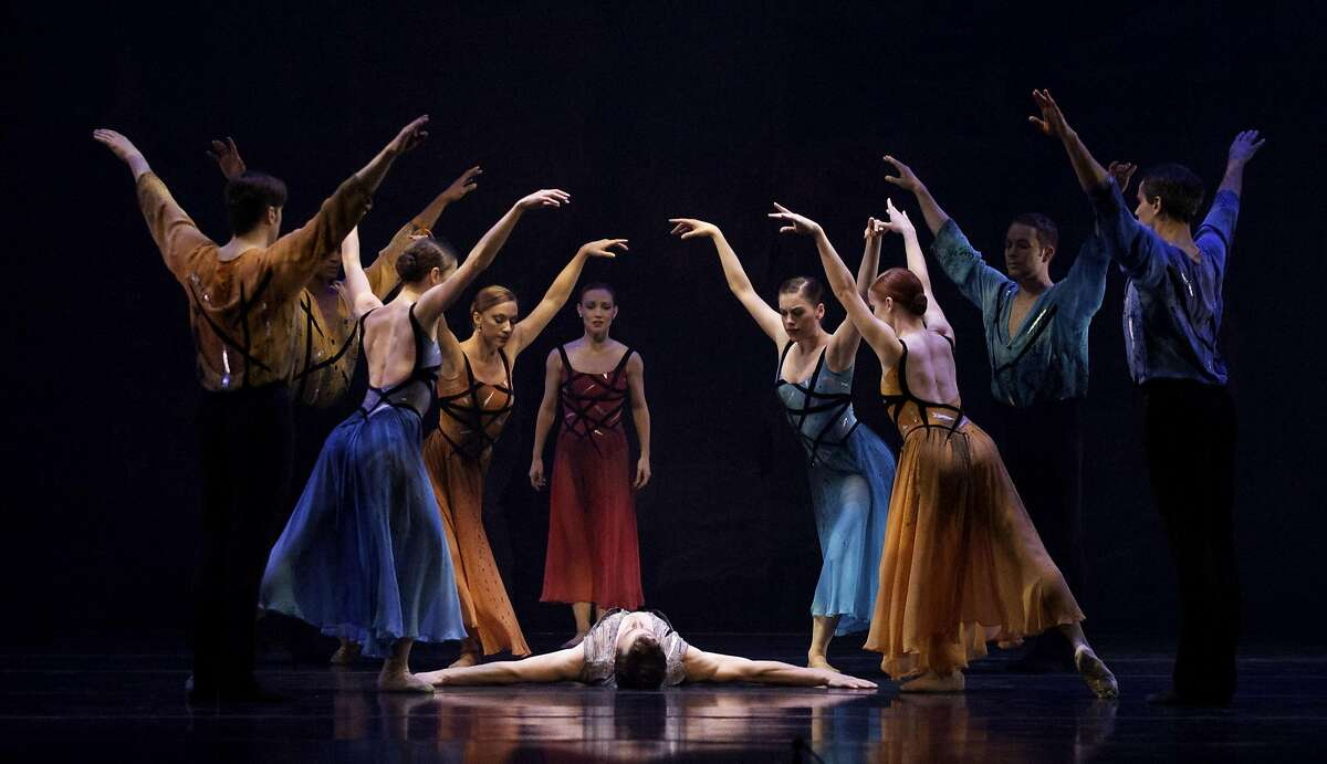 """Members of Smuin Ballet in Michael Smuin's """"Stabat Mater"""" at Walnut Creek's Lesher Center Friday and Saturday, Sept 23-24."""