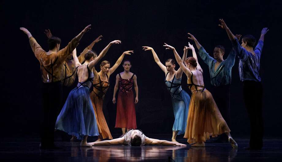 """Members of Smuin Ballet in Michael Smuin's """"Stabat Mater"""" at Walnut Creek's Lesher Center Friday and Saturday, Sept 23-24. Photo: David DaSilva"""