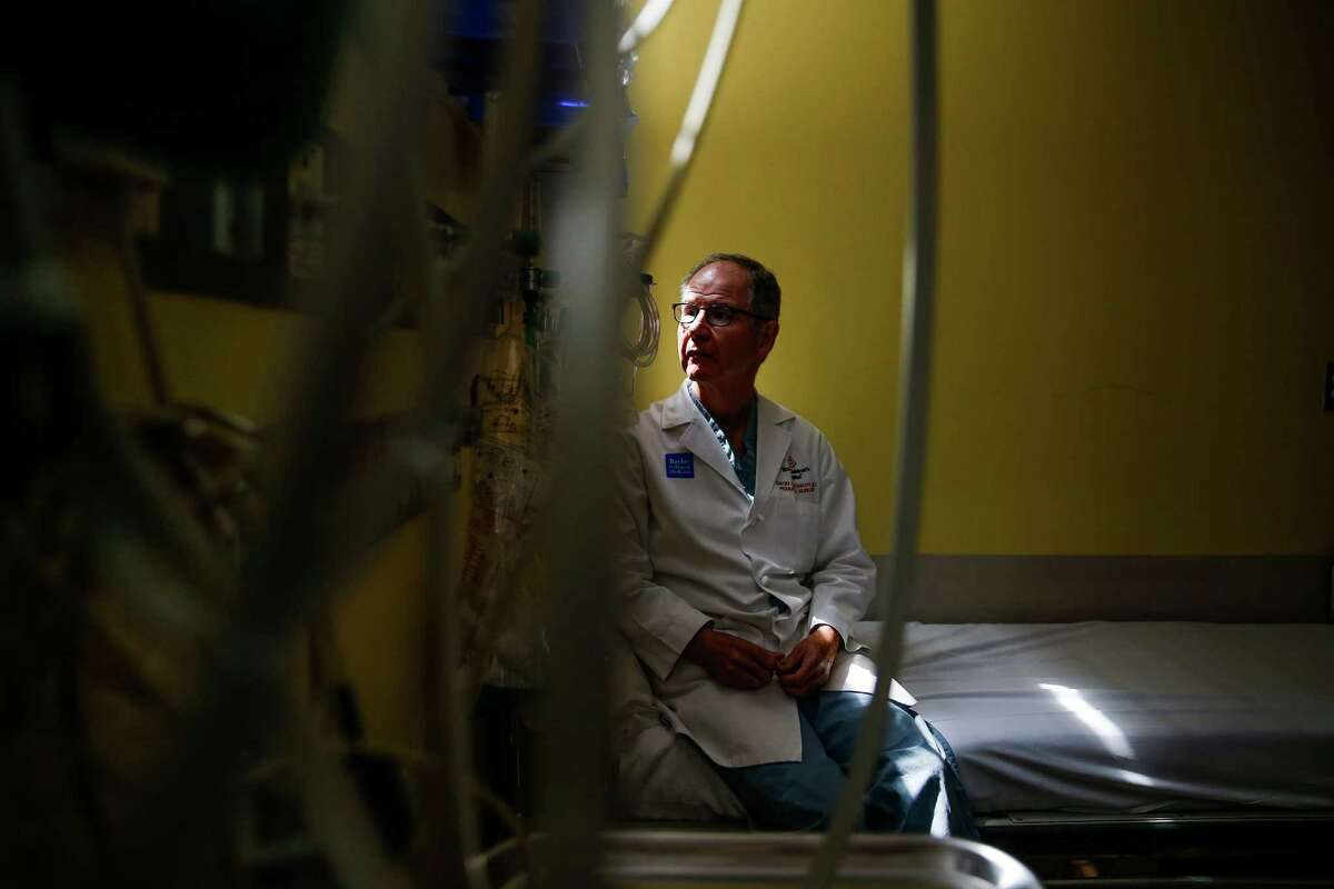 Texas Children's Hospital pediatric surgeon David Wesson sits for a portrait in the emergency room Tuesday, August 9, 2016 in Houston.