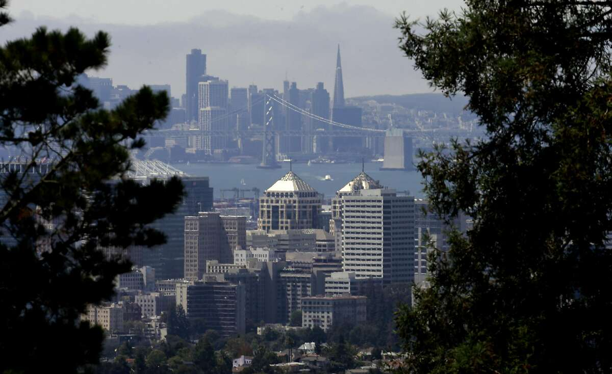 California While the state of California is pending a straw ban, several cities have one already implemented. They include Alameda, Carmel, San Luis Obispo, Malibu, Manhattan Beach, Oakland (pictured), Richmond, Berkley and San Francisco - the most recent city to outlaw straws.