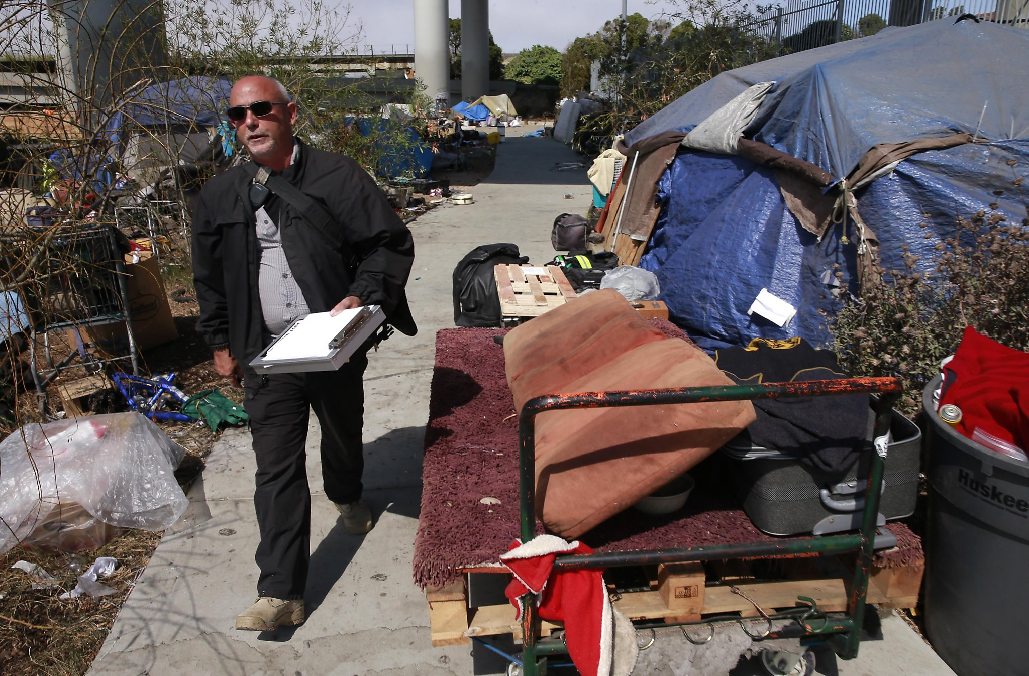 The Man Who S Trying To Clear The Tents From Sf S Streets