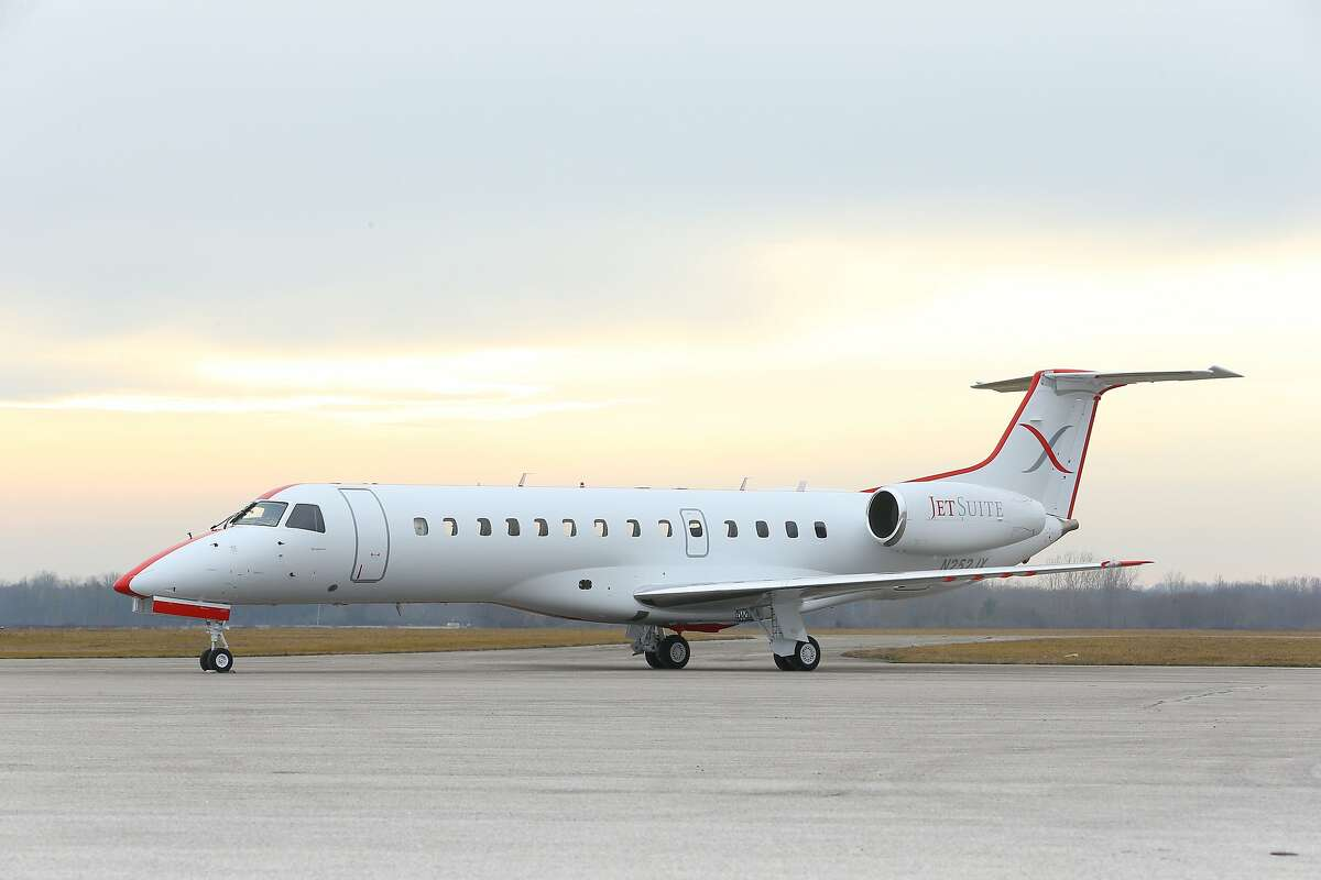 JetSuite is a private jet charter company. The company was founded in 2006 by Alex Wilcox, Keith Rabin, and Brian Coulter. Photo: Courtesy of Jet Suite