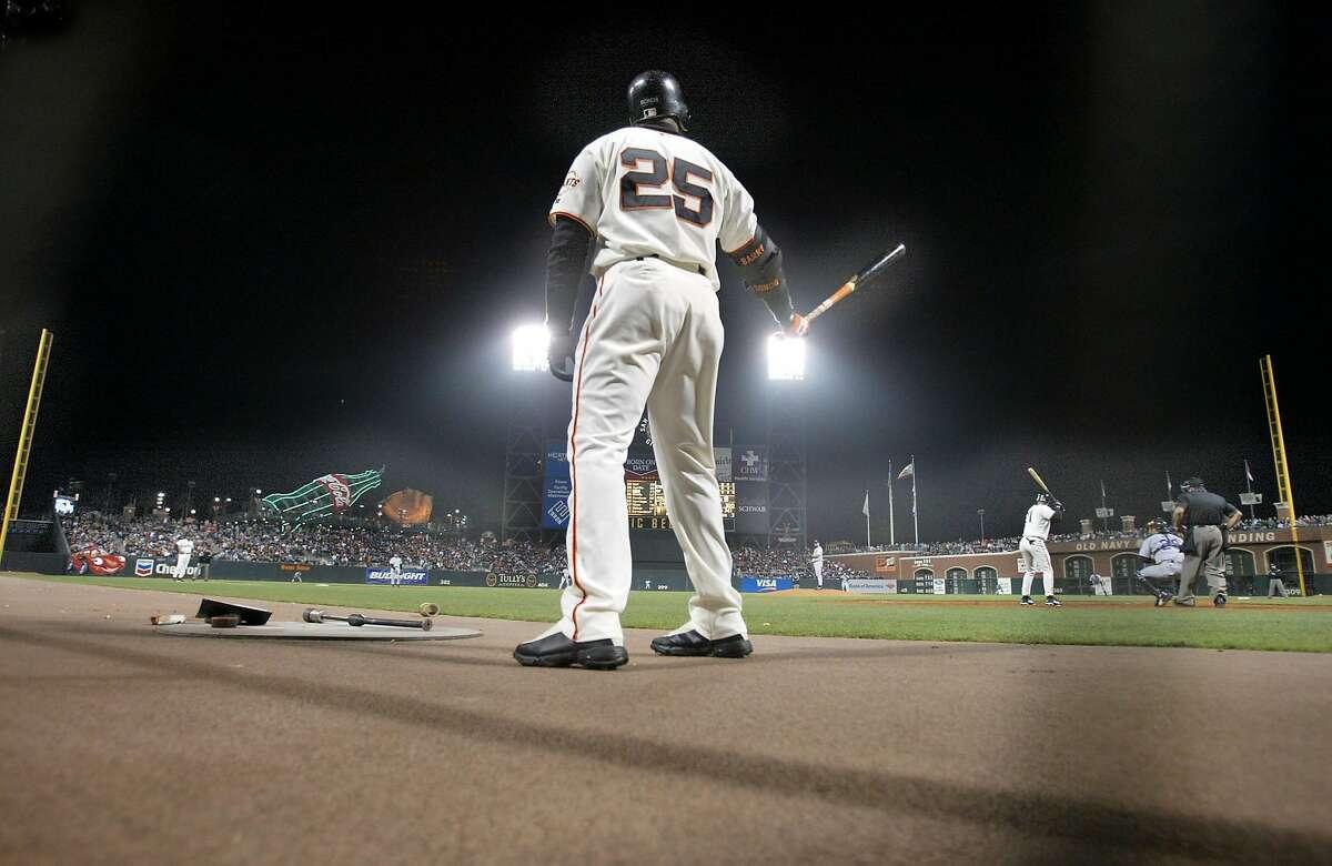 San Francisco Giants slugger Barry Bonds in 2002.