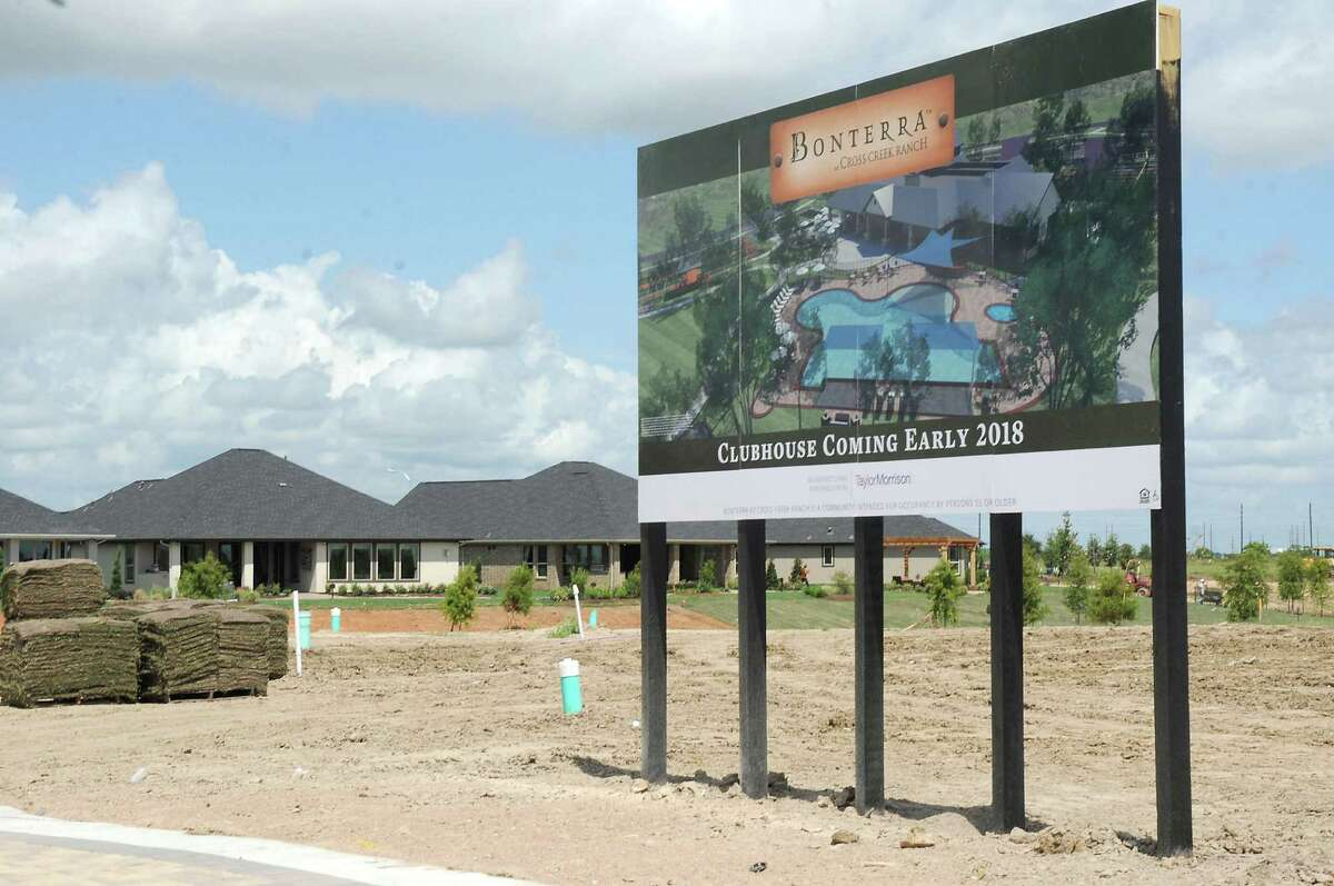 The site of the future clubhouse at Bonterra at Cross Creek Ranch in Fulshear Tuesday Aug. 09,2016.(Dave Rossman Photo)