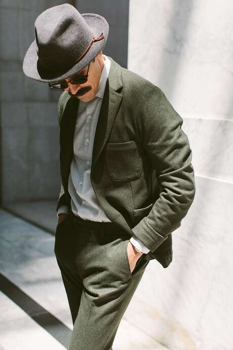 The Telegraph Suit is one of the crowdsourced designs by S.F. company Taylor Stitch. Photo: Taylor Stich
