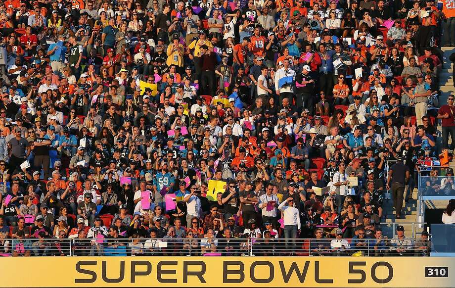 Super Bowl 50 at Levi's Stadium in Santa Clara made money for Bay Area cities, a report says. Photo: Patrick Smith, Getty Images