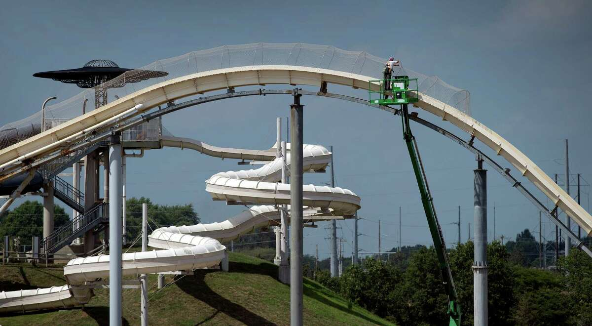 Schlitterbahn Waterpark in Kansas City, Kan. reopened a limited portion of the park Wednesday, but closed the Verrückt slide for the remainder of the season.