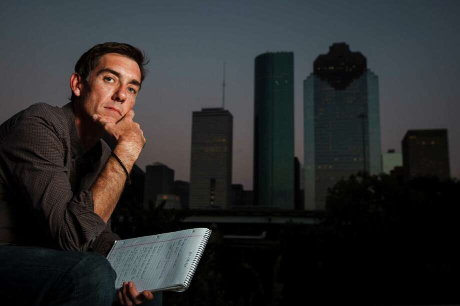 "Justin Cronin, author of the ""Passage"" trilogy, may be Houston's most high-profile writer today. Photo: Michael Paulsen, Staff / 2012 Houston Chronicle"