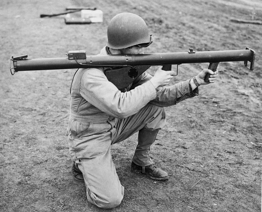 FILE -- A Berkeley teacher was placed on paid administrative leave after he had a deactivated bazooka in his classroom, officials said. The teacher apparently demonstrated how the weapon was used over 70 years ago. Photo: US Army Signal Corps