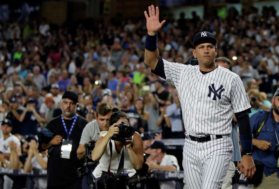 Alex Rodriguez has RBI double in final game with Yankees