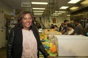 Nicole Lander of the Houston Food Bank.