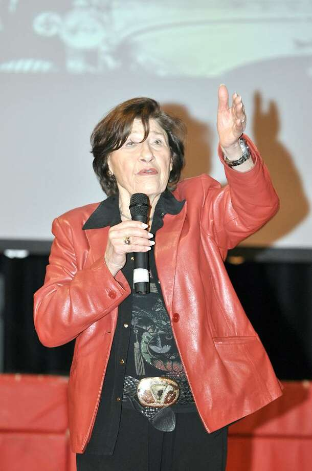 Holocaust survivor Anita Schorr Photo: Amy Mortensen, ST / Connecticut Post