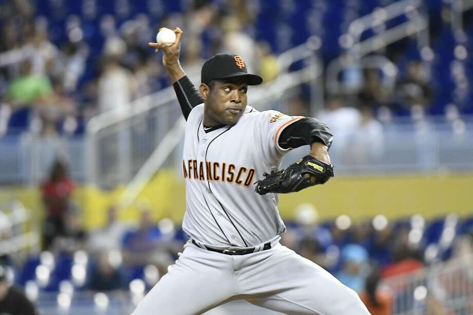 Santiago Casilla averages 28.5 seconds between pitches, the second-longest in the majors and well above a 20-second limit. Photo: Eric Espada, Getty Images