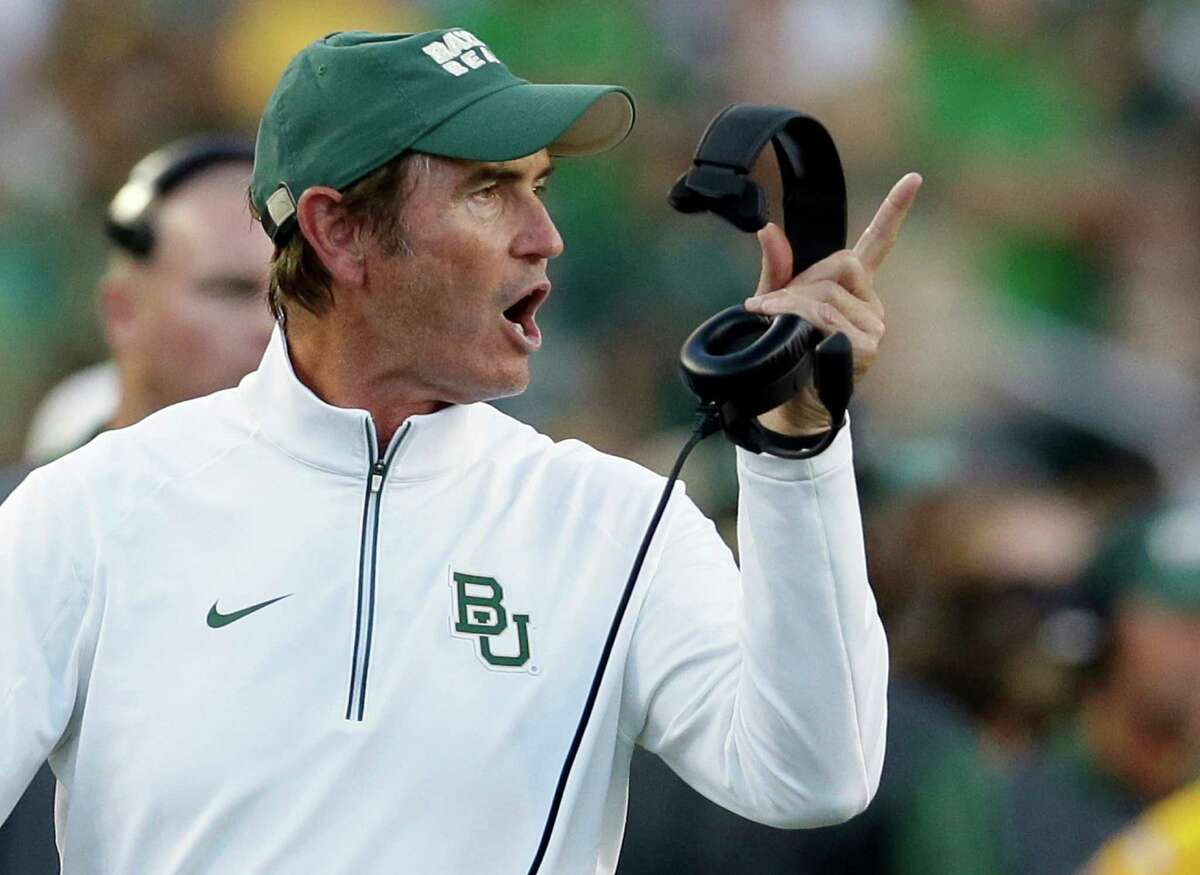 The sexual assault scandal also cost coach Art Briles his job. Briles, who left Baylor with a 65-37 overall record, later ripped the school, accusing it of wrongful termination.