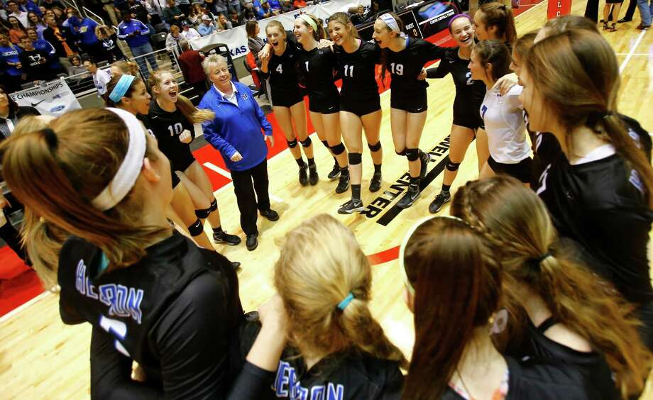 Lewisville Hebron head coach Karin Keeney didn't expect her squad to win the Adidas Texas Volleyball Invitational, but they had other plans. Photo: Mike Stone, Special Contributor / 20027662A
