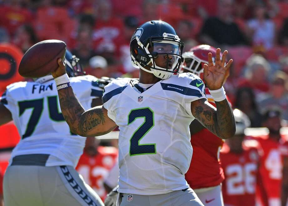 Seattle quarterback Trevone Boykin, who led the team to a last-second victory in the team's first preseason game on Saturday, is one of several undrafted free agents who seems like a good bet to make the Seahawks regular-season roster. Photo: Peter Aiken/Getty Images