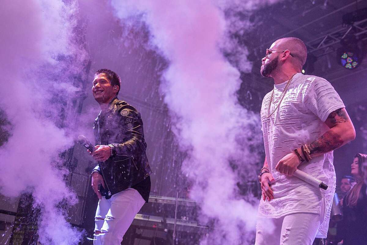 Lil Wayne and Chino y Nacho took the stage at the Bud Light Party Convention in Houston, August 13, 2016. at Silver Street Studios.