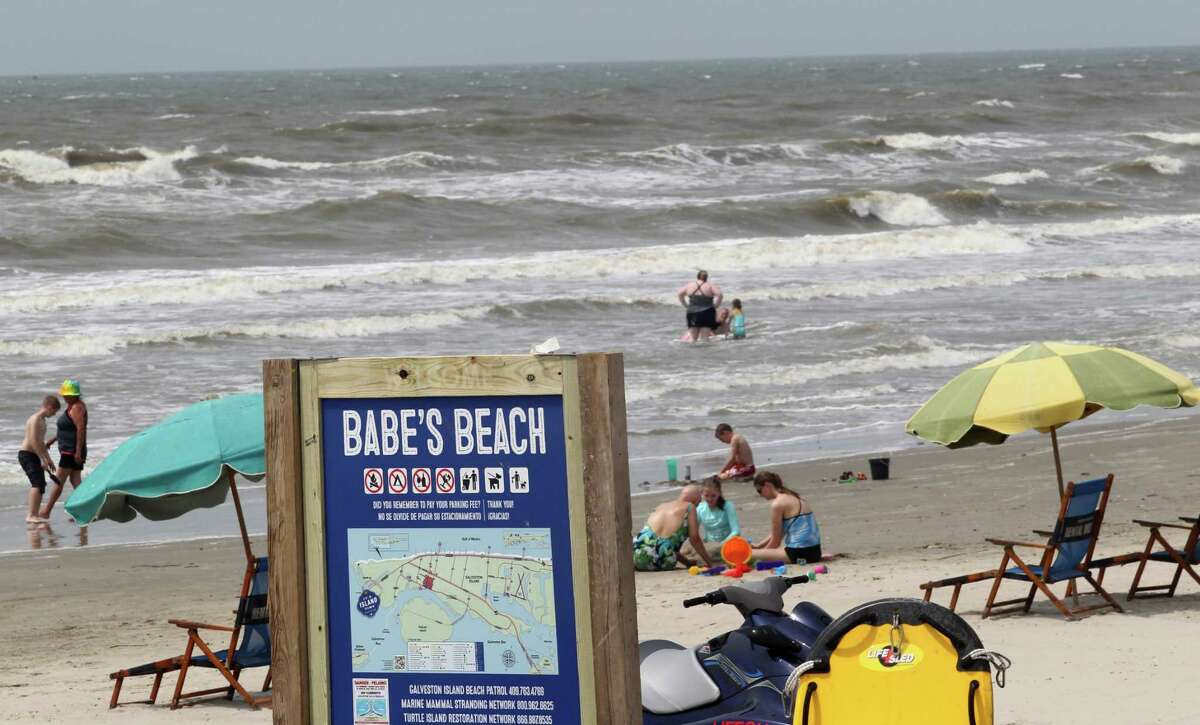 """In May, Galveston named its newest beach - a restored stretch of sand from 61st to 75th streets - after former state Sen. A.R. """"Babe"""" Schwartz, a fierce advocate of beaches in the Legislature."""