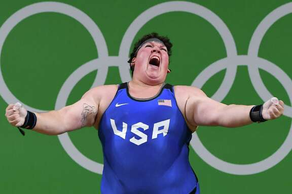Sarah Robles had an up-and-down journey after the 2012 London Games, including a two-year suspension and her coach leaving. But she will leave Rio with a bronze medal after lifting a 160-kilogram barbell. It's the first U.S. medal in women's weightlifting since 2000.