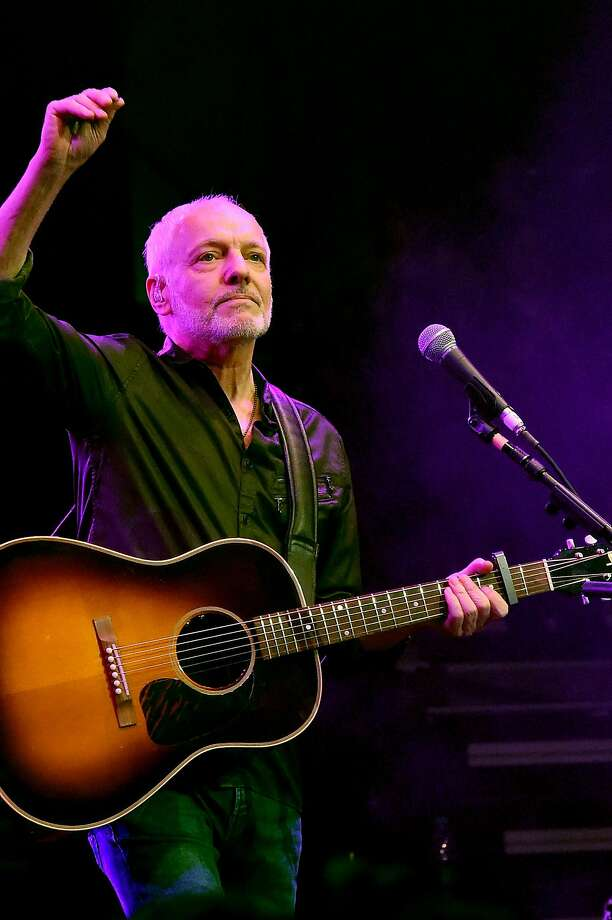 Peter Frampton will do a show at the Mountain Winery in Saratoga. Photo: Rick Diamond, Getty Images For The Country Music Hall Of Fame & Museum