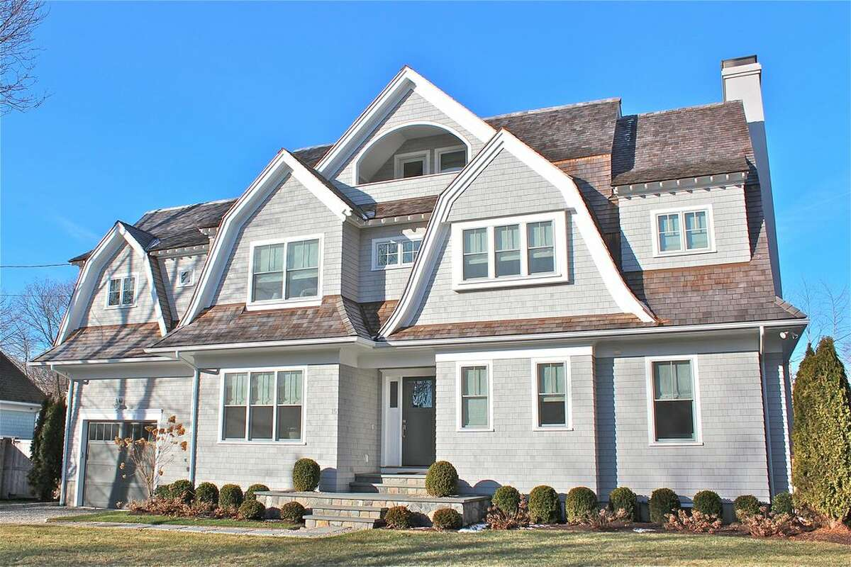 15 Apple Tree Trl, Westport, CT 06880 5 beds 5 baths 3,450 sqft Open House: Aug. 21, 1p.m.-4p.m. Features: HOBI award-winning 2015 construction, 500 feet from marina and Compo Beach, glass and chrome staircase View full listing on Zillow