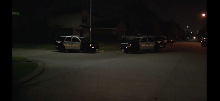 A family was tied up during a home invasion about 4:30 a.m. Monday, Aug. 15, 2016, at a house in the 4900 block of Canyon Blanco in southwest Houston. (Metro Video)