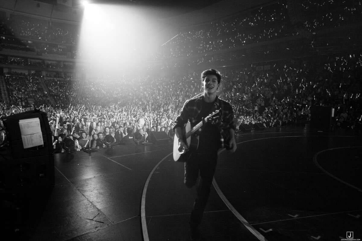 Singer Shawn Mendes brings his world tour to Mohegan Sun Casino and Resort on Friday. Find out more.