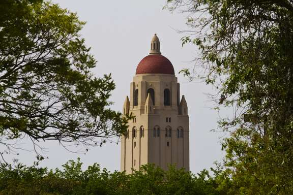 Campus view of Hoover Tower at Stanford University,Stanford California USA (Mark Miller photos/Getty Images)