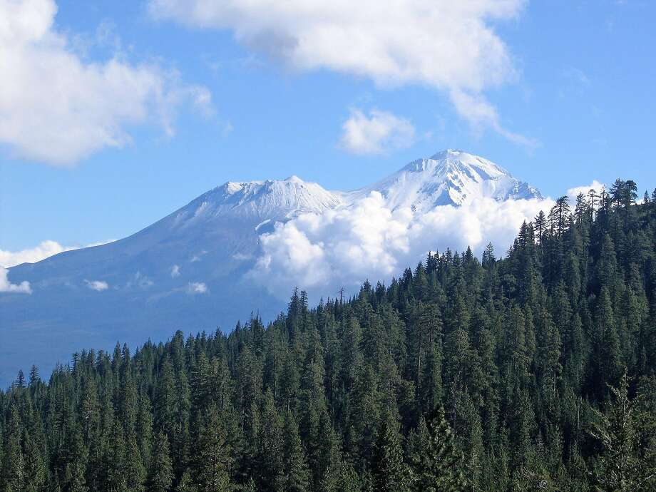 View of Mt. Shasta from the PCT northwest of Castle Crags. Photo: Andy Murdock, Special To The Chronicle