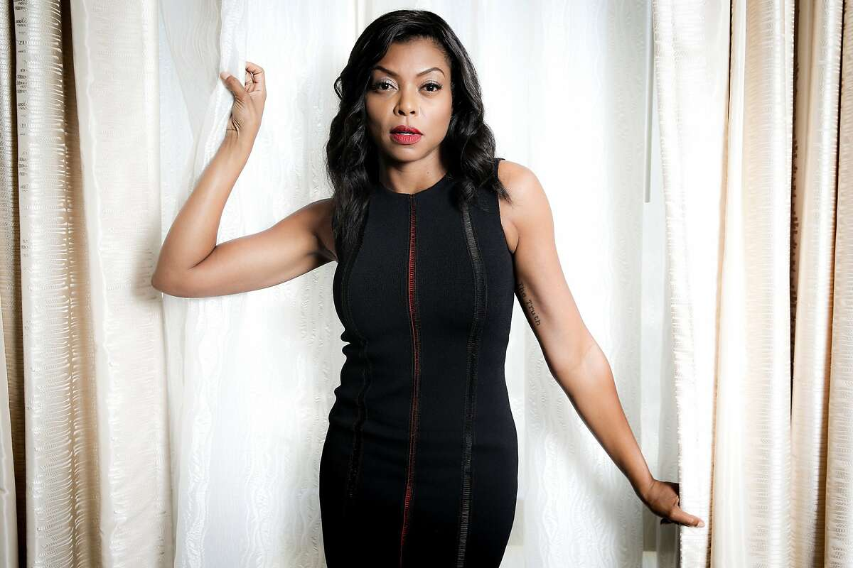 """FILE - In this Monday, Aug. 8, 2016, file photo, Taraji P. Henson, a cast member in the FOX series """"Empire,"""" poses for a portrait during the 2016 Television Critics Association Summer Press Tour at the Beverly Hilton in Beverly Hills, Calif. Henson is back as Cookie in """"Empire,"""" has an autobiography out in October, stars in a movie about a real-life NASA mathematician in January, and says she's just getting started. (Photo by Rich Fury/Invision/AP, File)"""