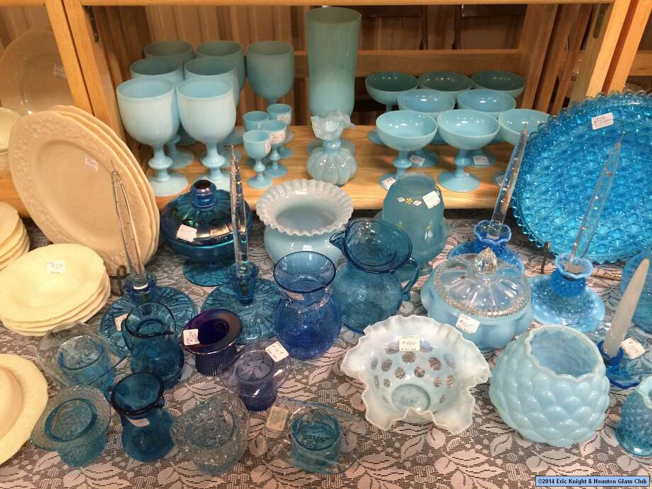 The Houston Glass Club will host its 42nd annual Vintage Glass and Antique Show and Sale from Aug. 19-21 at the Fort Bend County Fairgrounds. Photo: Eric Knight/Houston Glass Club