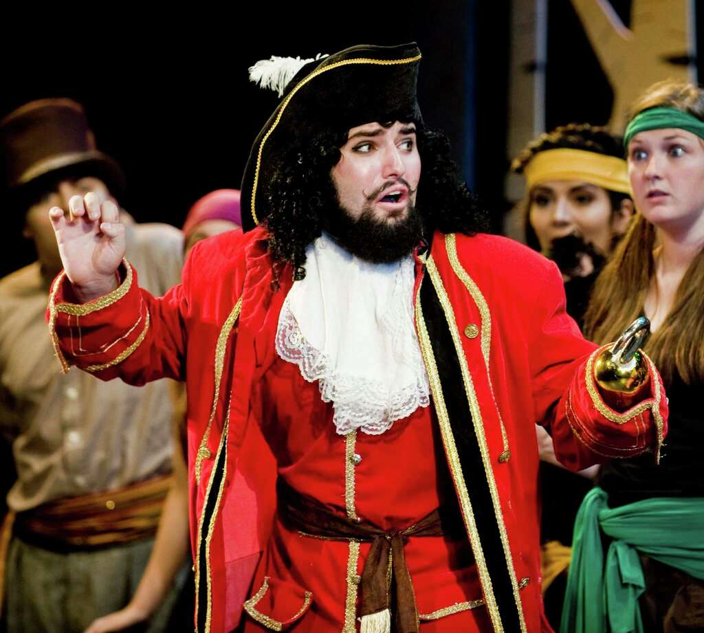Matthew McArthur As Captain Hook In Curtain Callu0027s Play Peter Pan At The  Sterling Farms Theater