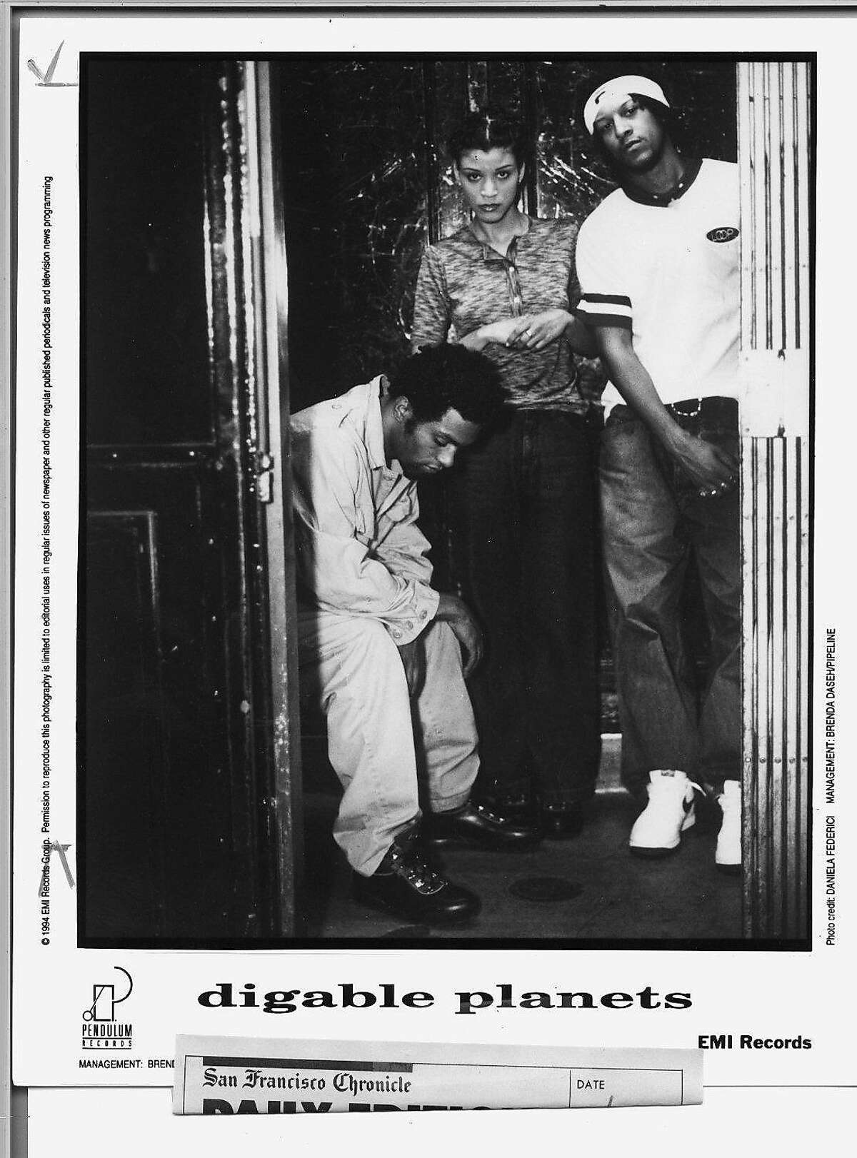 THE DIGABLE PLANETS MUSIC GROUP.