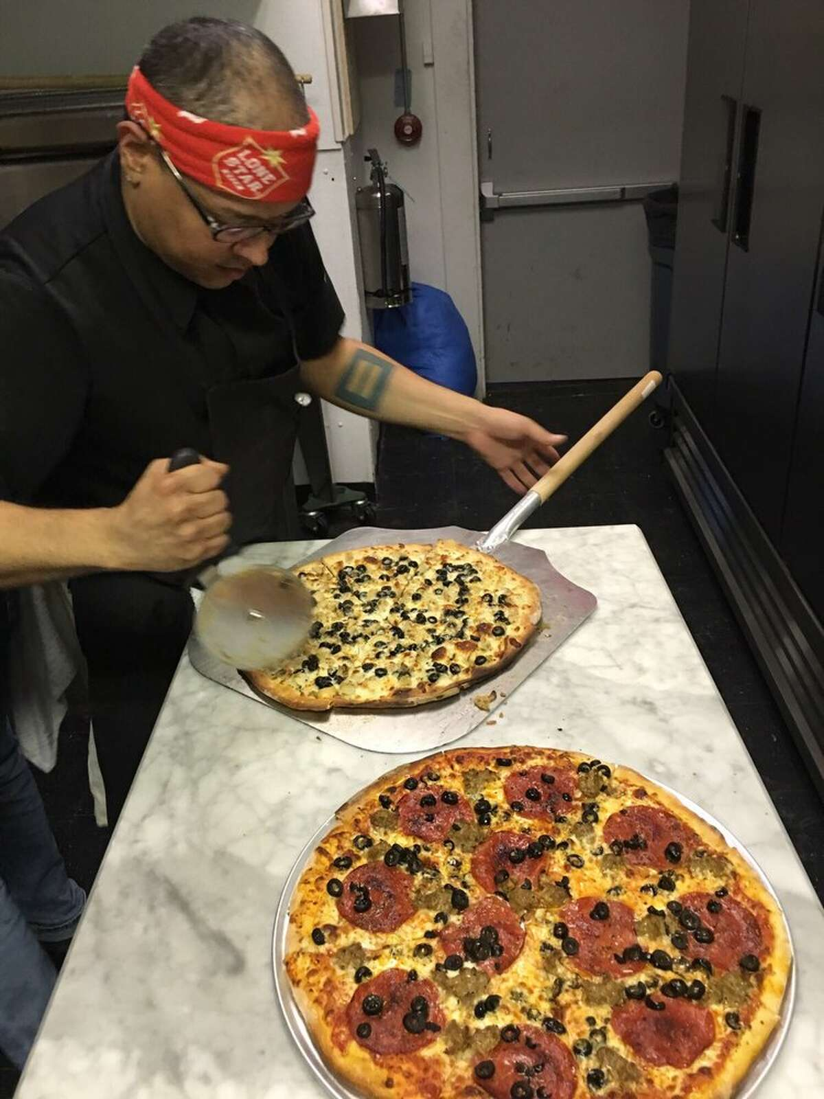Nice Slice pizza, currently available at Love Buzz bar, will open at White Oak Music Hall compound in late fall.