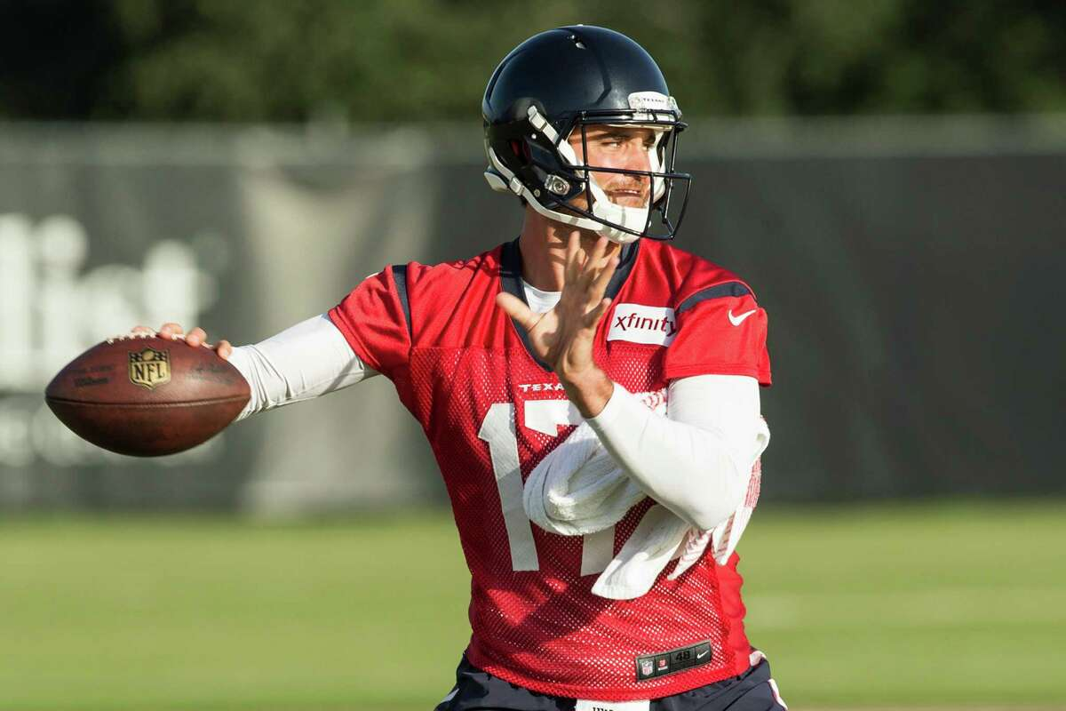 Quarterback Brock Osweiler is under as much or more pressure than any player in the league. He was 5-2 as a starter for Denver last year before the Texans gave him $37 million guaranteed. He's learning a system that gives the quarterback a lot of freedom at the line of scrimmage. He must get rid of the ball quicker and become more accurate down the field. Grade: C+
