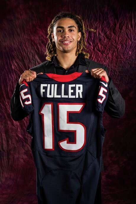 Houston Texans top draft pick Will Fuller poses for a portrait at NRG Stadium on Friday, April 29, 2016, in Houston. Fuller, a wide receiver out of Notre Dame, was the 21st overall selection in the 2016 NFL Draft. ( Brett Coomer / Houston Chronicle )