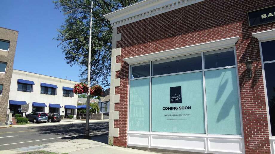 The Shade Store is opening its second location in Connecticut at 48 West Putnam Ave. in Greenwich, with the storefront previously occupied by a Crumbs bakery that closed in July 2014. Photo: Alexander Soule / Hearst Connecticut Media / Stamford Advocate