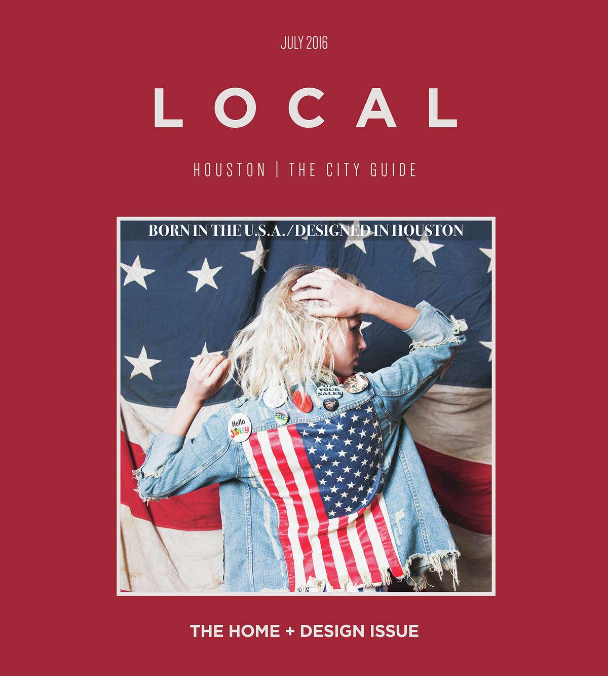 Covers of Local Houston magazine, formerly 002houston magazine.