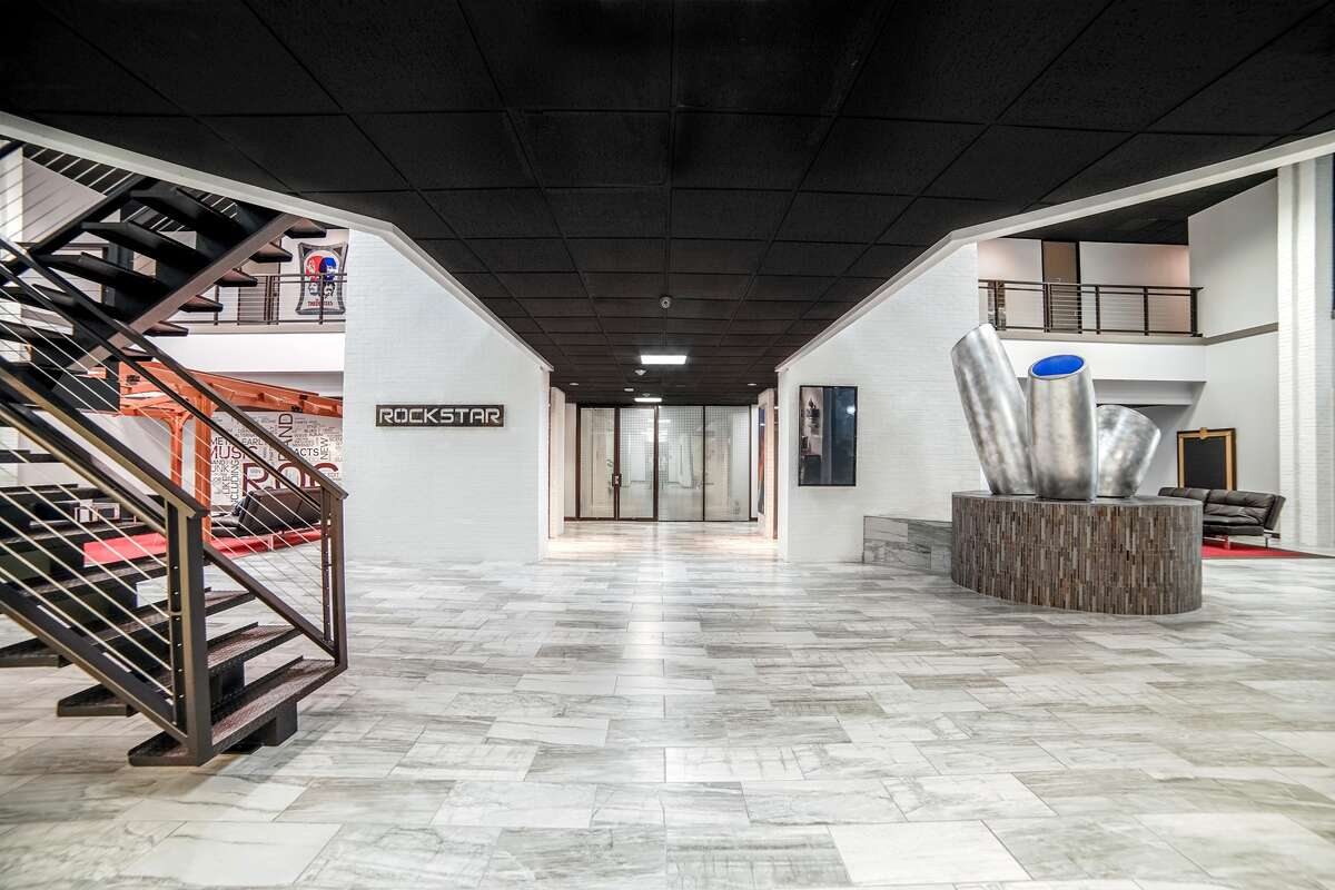 The atrium of the 5700 NW Central building has a new look