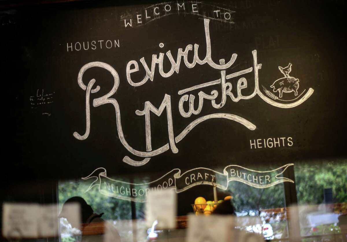 Revival Market is popular neighborhood eatery in the Houston Heights.