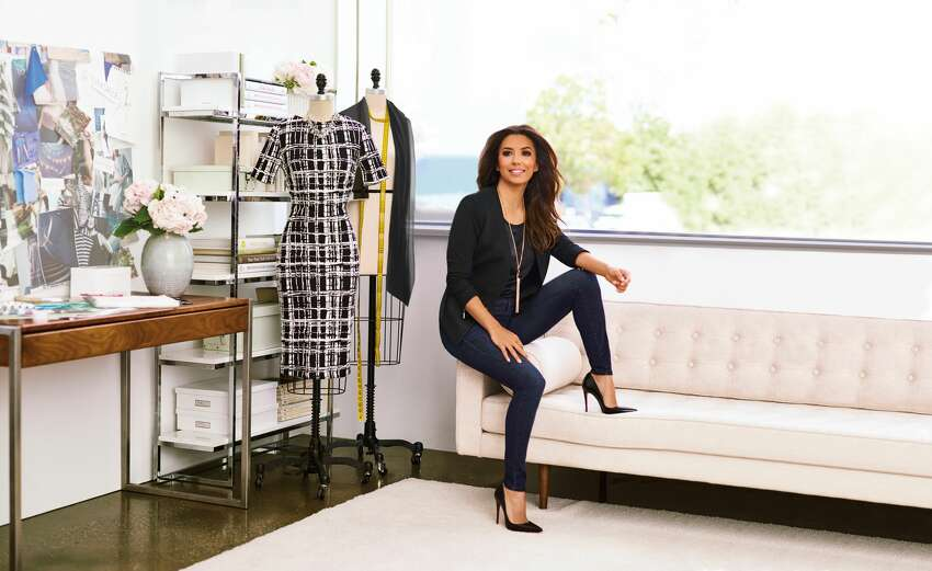 Eva Longoria models her new line found at the Limited.