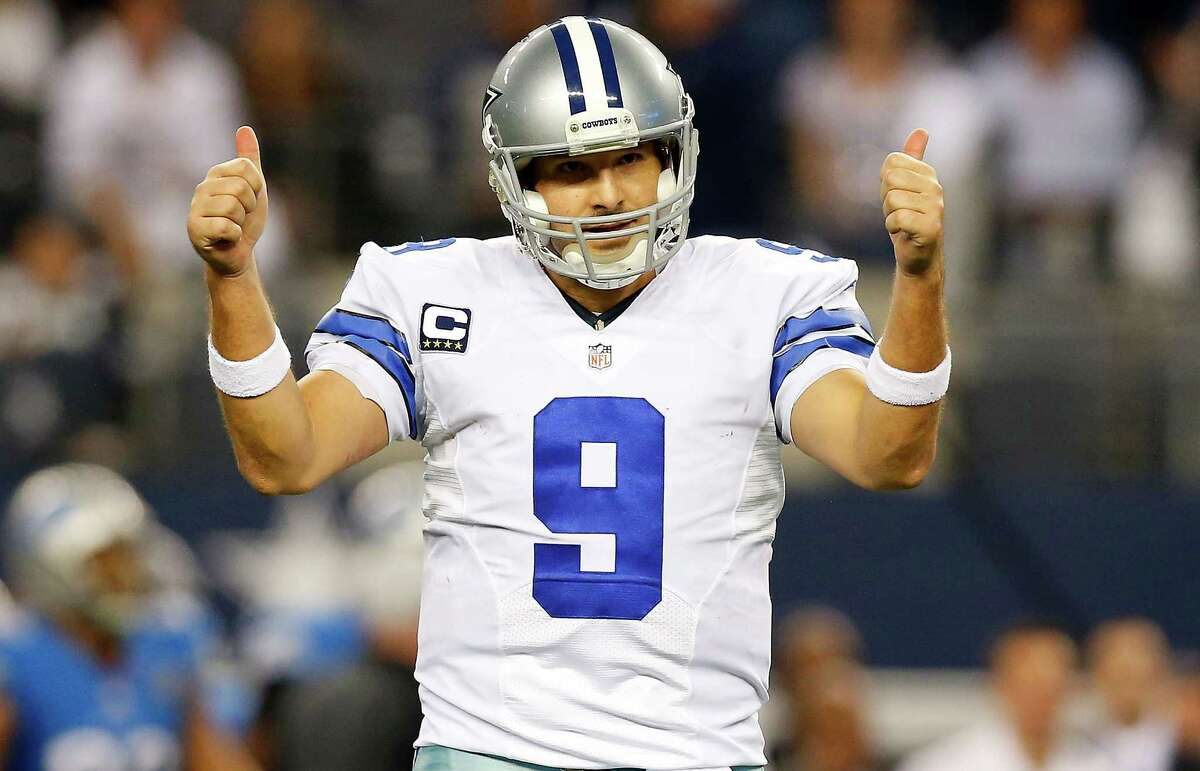 PHOTOS: Where Tony Romo's worst seasons would rank in Texans' quarterback history Tony Romo would be a great fit at starting quarterback for the Houston Texans. Even in his down years, he'd be a step up for the Texans. Browse through the photos to see a couple of Tony Romo's worst seasons and compare those to the Texans' quarterbacks in each season in franchise history.