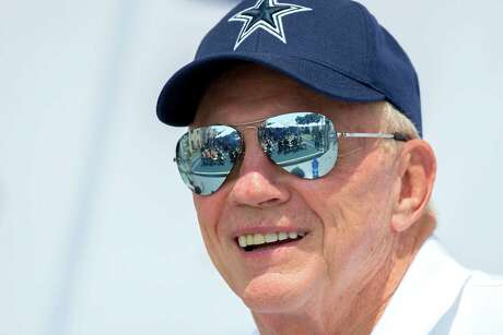 Cowboys owner Jerry Jones likes what his team has on offense and thinks it can make up for a defense that has several question marks.
