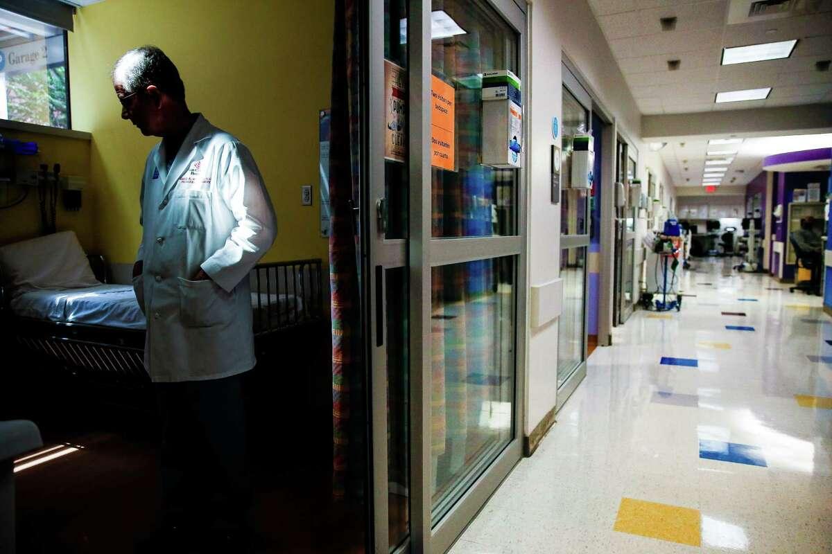Houston pediatric surgeon David Wesson has witnessed the devastation of children and gun play.