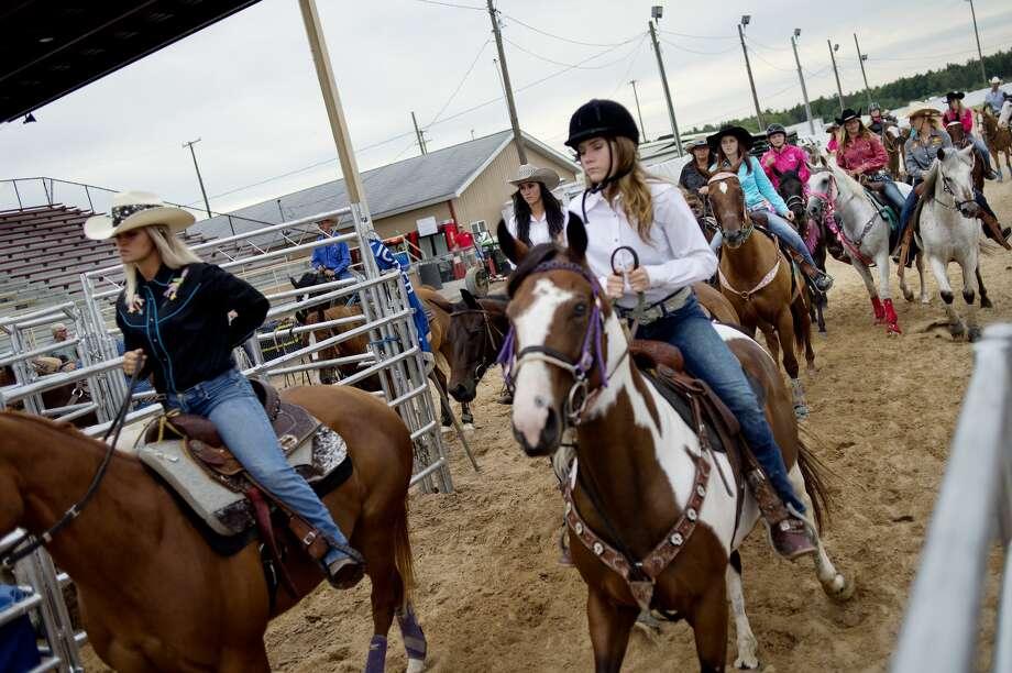 Super Kicker Rodeo At The Midland County Fair Midland