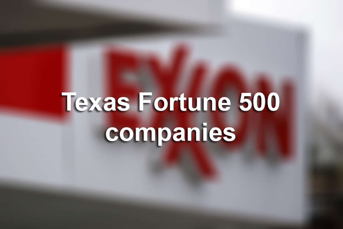 From oil giants and soda icons to airlines and retailers, click through to see which Texas companies landed on the Fortune 500 list in 2016.